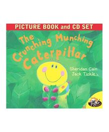 The Crunching Munching Caterpillar Picture Book & CD Set - English