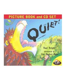 Quiet Picture Book & CD Set - English