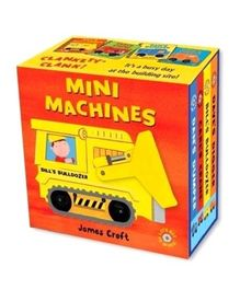 Mini Machines Books - English
