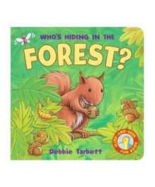 Whos Hiding In The Forest Riddle Book - English