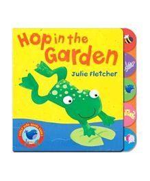Early Bird Hop in the Garden Story Book - English