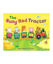The Busy Red Tractor Story Book - English