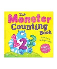 The Monster Counting Book - English