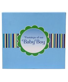 Archies Footsteps of Your Baby Blue Book - English