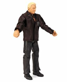 WWE Action Figure Bobby The Brain Heenan Black - Height 16.5 cm