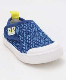 Cute Walk by Babyhug Casual Mesh Shoes - Blue