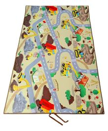 Unimats Construction Themed Play Mat - Multicolour
