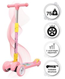 R for Rabbit Road Runner The Smart And Smooth Kids Scooter - Pink