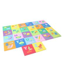 Unimats Floor Puzzle Play Mats Alphabets Print Multicolour - 26 Pieces