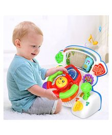 Kiddale Baby Musical  Steering Wheel Toy - Red