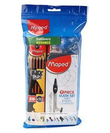 Maped Stationery Essential Advance Kit - Multicolor