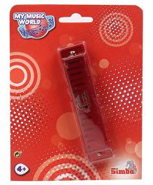 Simba My Music World Harmonica Toy - Red
