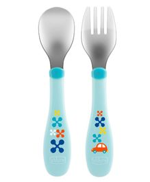 Chicco Metal Cutlery (Color May Vary)