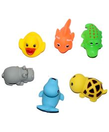 Vibgyor Vibes Non Toxic Bath Toys - Set of 6