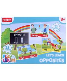 Funskool Opposites Puzzles - 25 Pieces