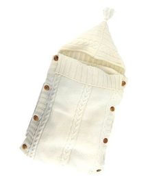 Babymoon Organic Knitted Sleeping Bag - Off White