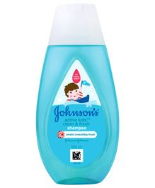 Johnson's Active Kids Clean & Fresh Shampoo - 100 ml