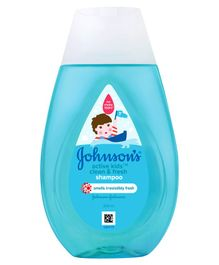 Johnson's Active Kids Clean & Fresh Shampoo - 200 ml