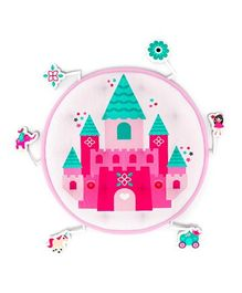 Fancy Fluff Baby Play Mat Princess Theme - Pink