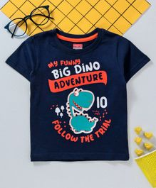 8d039c36a7ae Babyhug Half Sleeves Tee Graphic Print - Blue