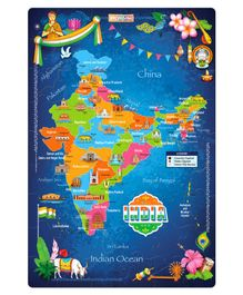 Zigyasaw India Jigsaw Premium Giant Floor Puzzle - 54 Pieces