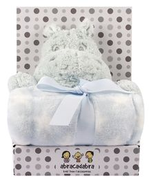 Abracadabra Blanket & Soft Toy Set - Blue