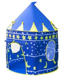 Playhood Printed Castle Tent With Carry Case - Blue