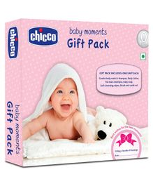 Chicco Baby Moments Skin Care Gift Pack Pink - Set Of 6