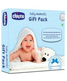 Chicco Baby Moments Skin Care Gift Pack Blue - Set Of 6