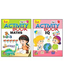 1st Activity Book Collection 1 Set of 2 - English