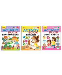 1st Activity Book Collection 2 Set of 3 - English