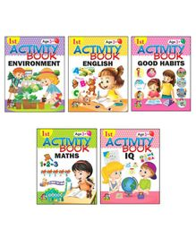 1st Activity Book Mega Collection Set of 5 - English