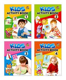Kids Activity Book Collection - English