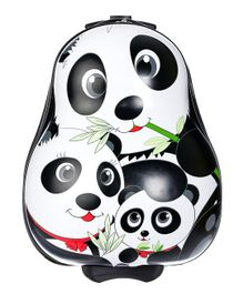 SMJM Panda Design Kids Trolley Black & White - Height 36 inches
