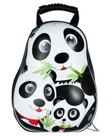 SMJM Panda Design Kids Backpack - Height 12 inches