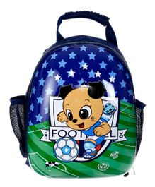 SMJM Doggy Design Backpack Blue Green - Height 14.1 inches