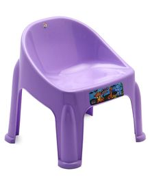 Happybaby Plastic Chair - Purple