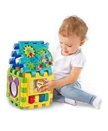 Kiddale 6 in 1 Activity Cube - Blue