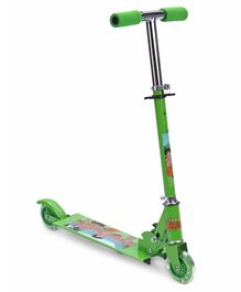 Chhota Bheem Two Wheel Scooter - Green