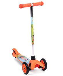 Chhota Bheem Twist Scooter - Orange