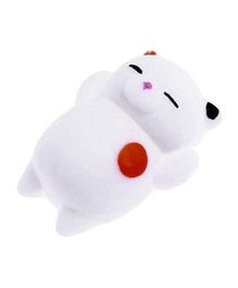 Party Propz Squishy Cat Toy - White
