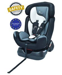 R for Rabbit Jack N Jill Grand The Convertible Car Seat - Off White Black