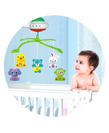 Playhood MuscialStar Light Projecting Cot Mobile - Multicolour