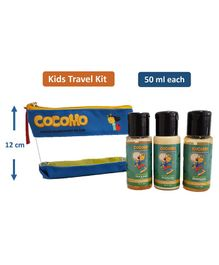 Cocomo Natural Earth Shine Travel Gift Set Pack of 3 - 50 ml Each
