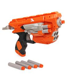 Mitashi Bang Goose Toy Gun with With Bullets - Orange