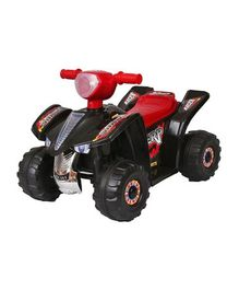 HLX NMC Battery Operated Super ATV Ride On Bike - Black
