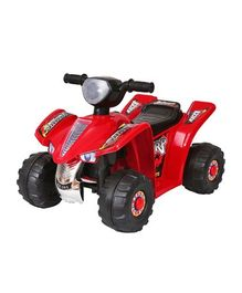 HLX NMC Battery Operated Super ATV Ride On Bike - Red