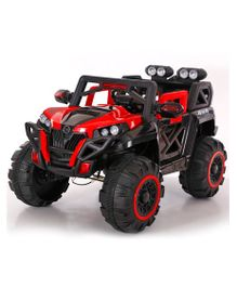 GetBest 1188 12V Battery Operated Ride On Jeep For Kids With 6 Motors - Red