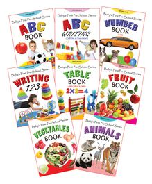 Dreamland - Baby First preschool Pack Of 8 Titles