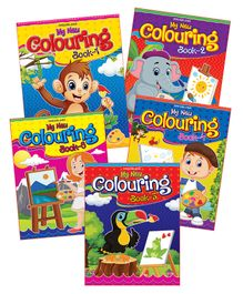 Dreamland - My New  Colouring Book With Pack Of 5 Titles